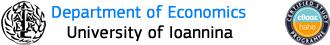 Τμήμα Οικονομικών Επιστημών Πανεπιστημίου Ιωαννίνων